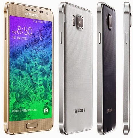 Spesifikasi dan Harga HP Samsung Galaxy Alpha