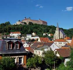 Take a Panoramic Tour of the City of Kulmbach, Germany