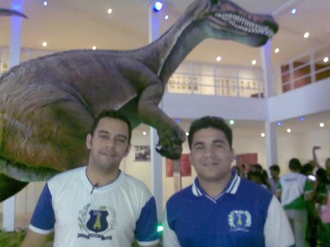 Visita ao museu de paleontologia da URCA