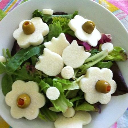 Ensaladas romanticas ideas para la cena for Decoracion con verduras