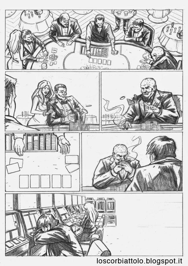 all in pazzi per il fumetto vincitore 2014 matite mirko treccani pagina 1