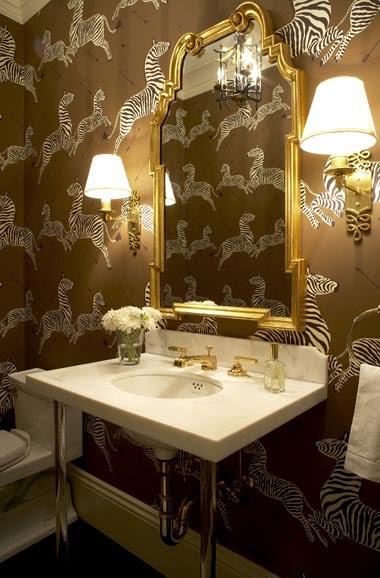Cambiar Baño Por Vestidor:Doos Interiorismo: Decorar con espejos Dorados