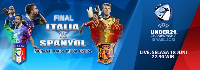 """BOLAPENTING - Jadwal pertandingan Piala Erope """"Euro"""" U-21 2013, Selasa"""
