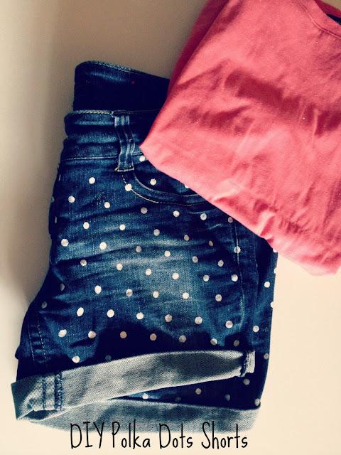 DIY Das mach ich selber! DIY Polka Dots Shorts