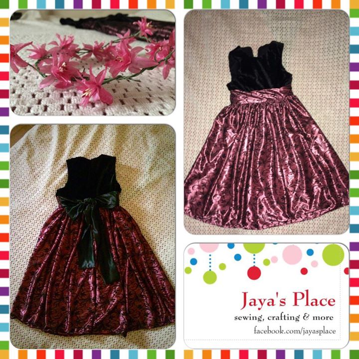 cottagemama party dress with lace