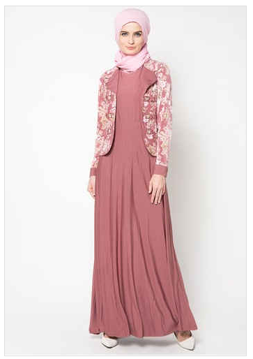 Search Results For Contoh Model Baju Muslim Brokat