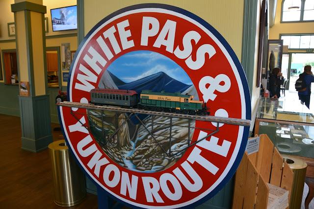 Skagway Alaska Yukon route