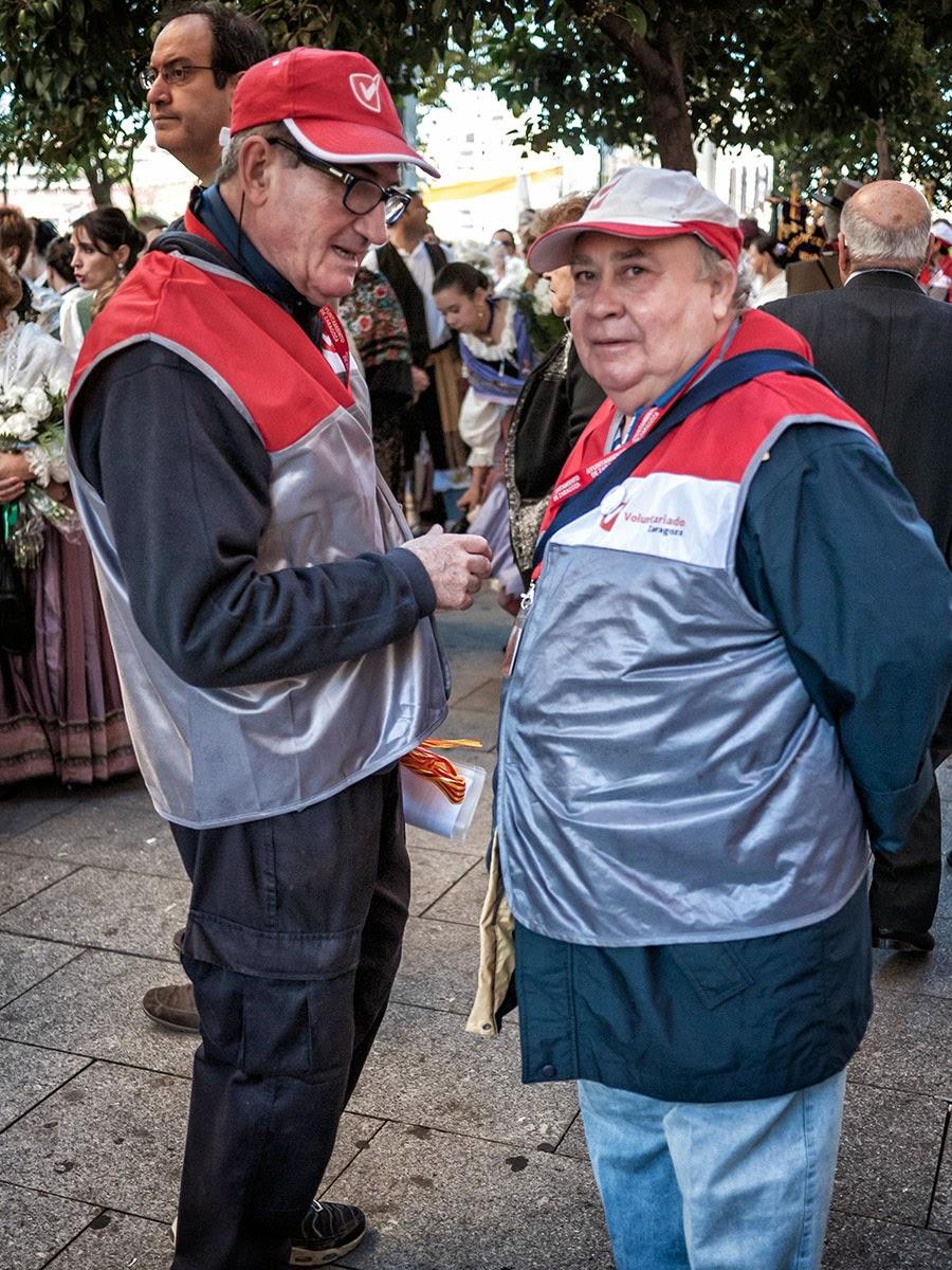 Paseando el día del Pilar - Zaragoza 2014 - Ofrenda Fiestas del Pilar Zaragoza 2014