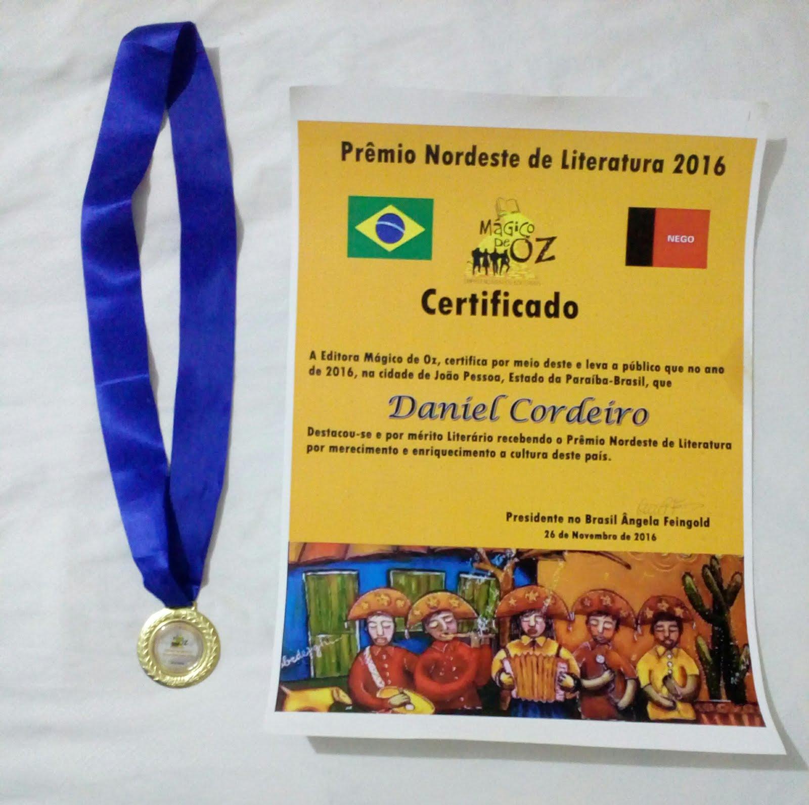 Prémio Nordeste de Literatura 2016