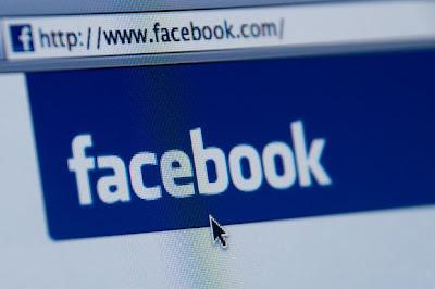 Marcação de amigos no Facebook