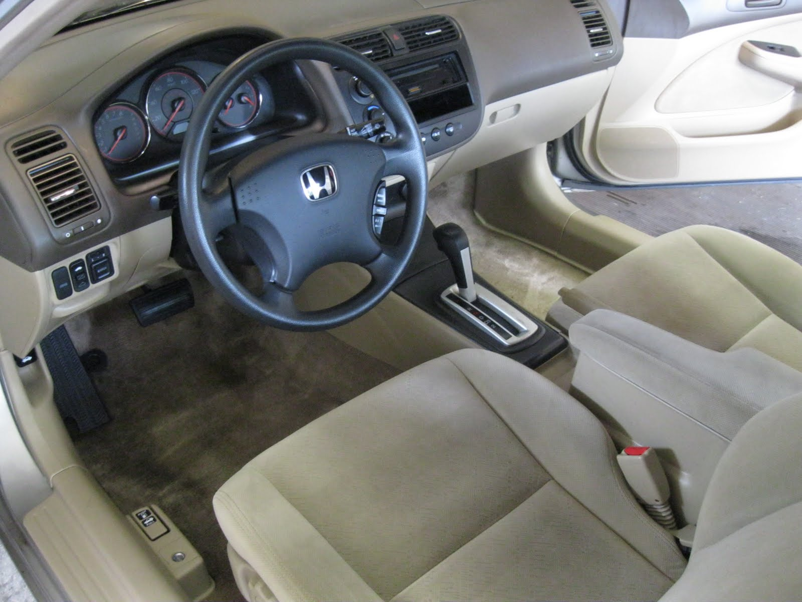Ben S Detailing 2003 Honda Civic Coupe Interior Detail