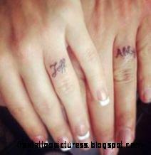 Ring Finger Tattoos on Pinterest  Tattoo Ring Finger Ring Tattoo