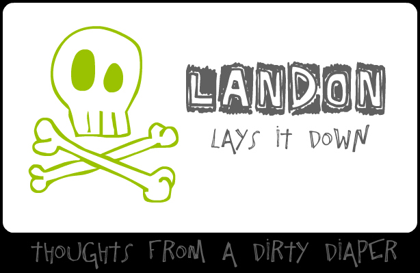 landon lays it down