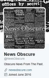 News Obscure On Twitter
