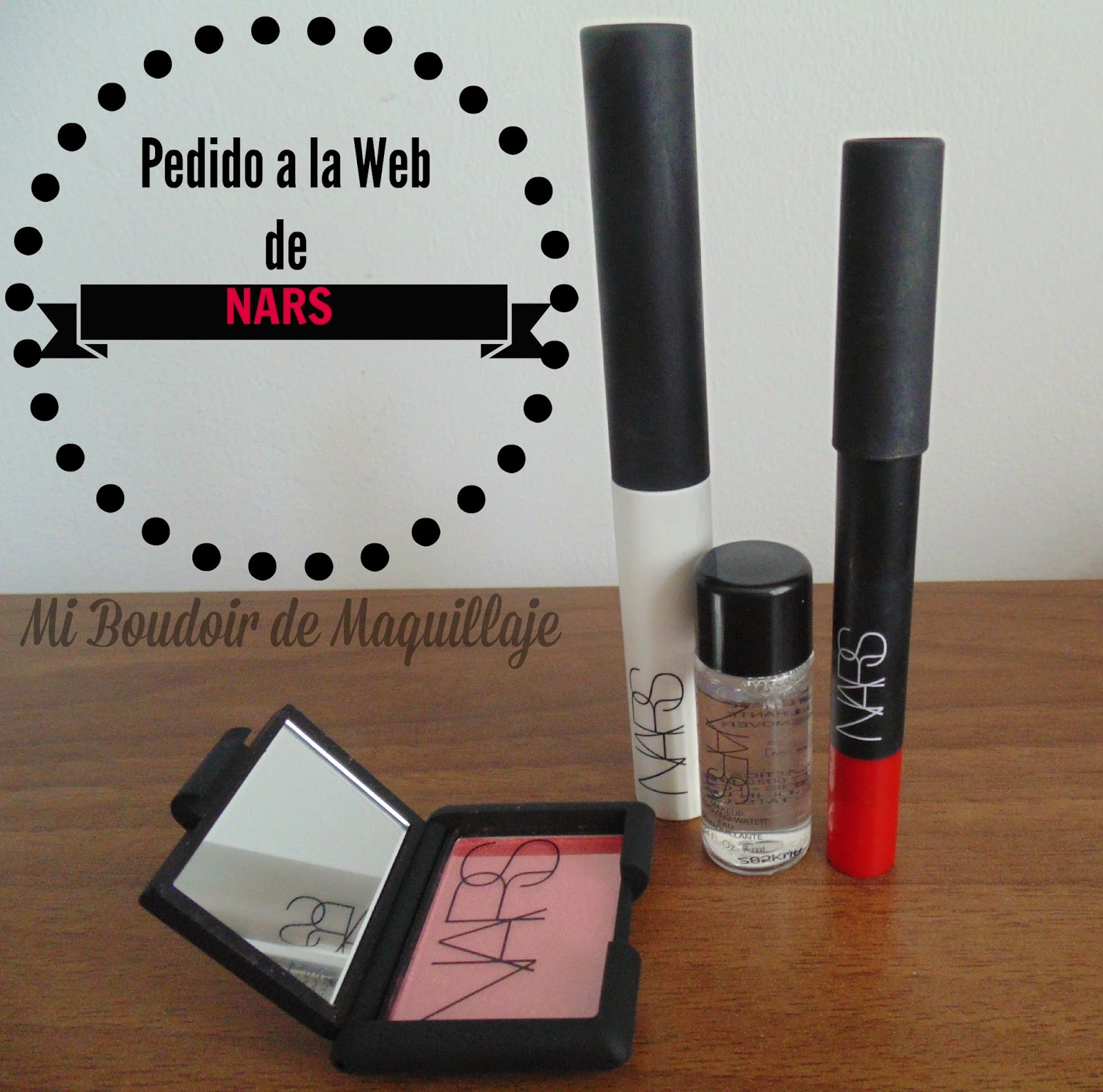 Pedido a Nars, DRAGON GIRL, PREBASE SOMBRAS Y MINI ORGASM