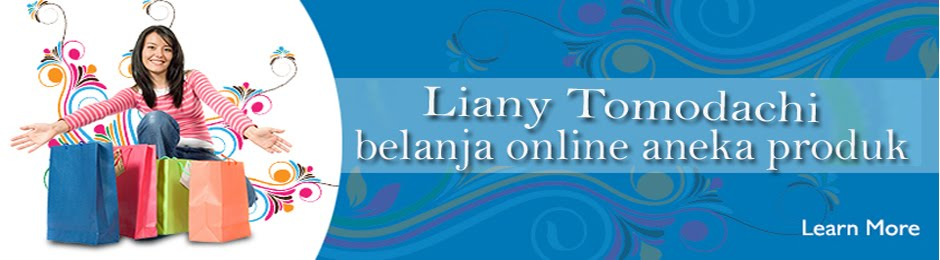 Liany Tomodachi Toko Online Yang Menjual berbagai kosmetik import murah dan berkualitas