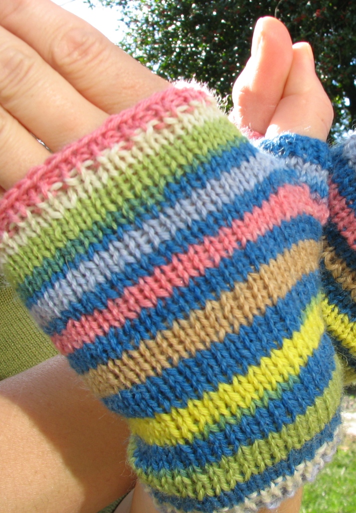 Knitting Terms M1 : Knittybetty bits jiffy mitts
