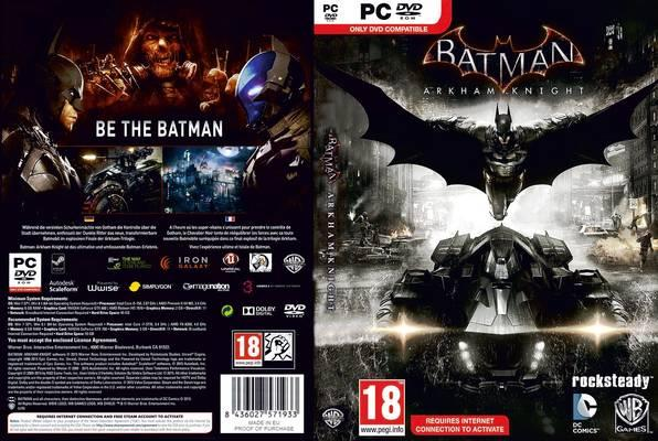 batman dark knight pc game