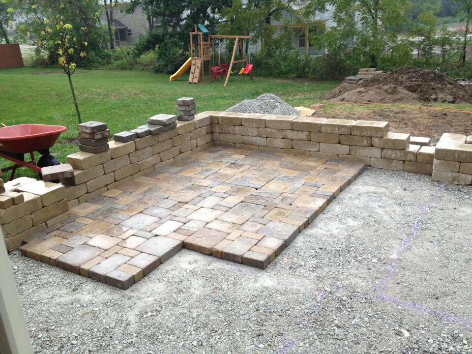 Paver how to build patio with pavers - Paver designs for backyard ...