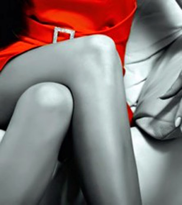 Mujer vestida de rojo cancion