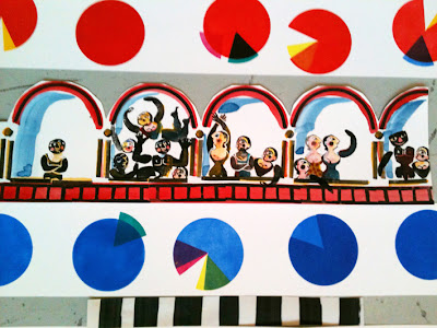 gravure cirque de Brigitte Rio