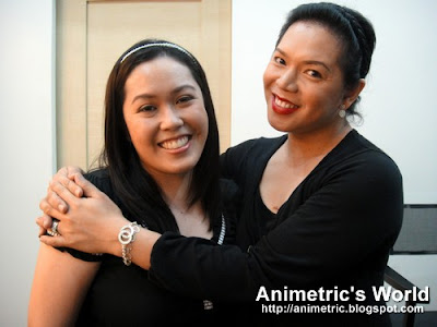 Animetric and Ms. Yuki Geraldo