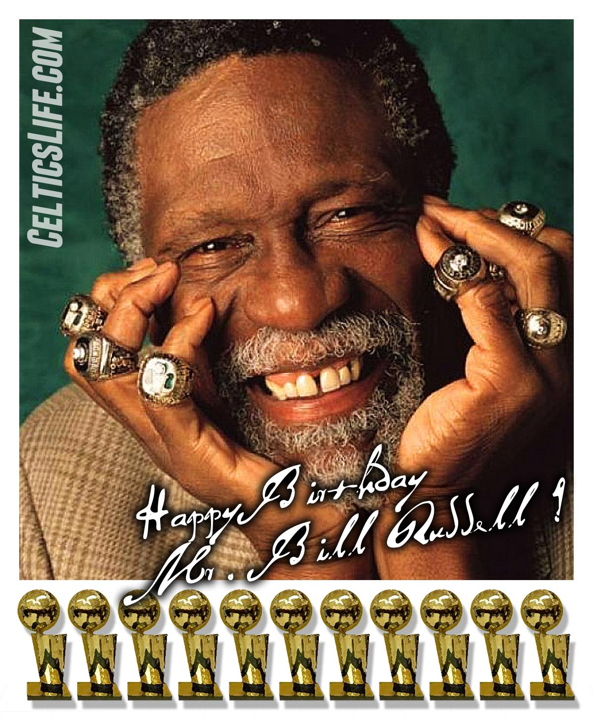 Happy Birthday Mr Russell