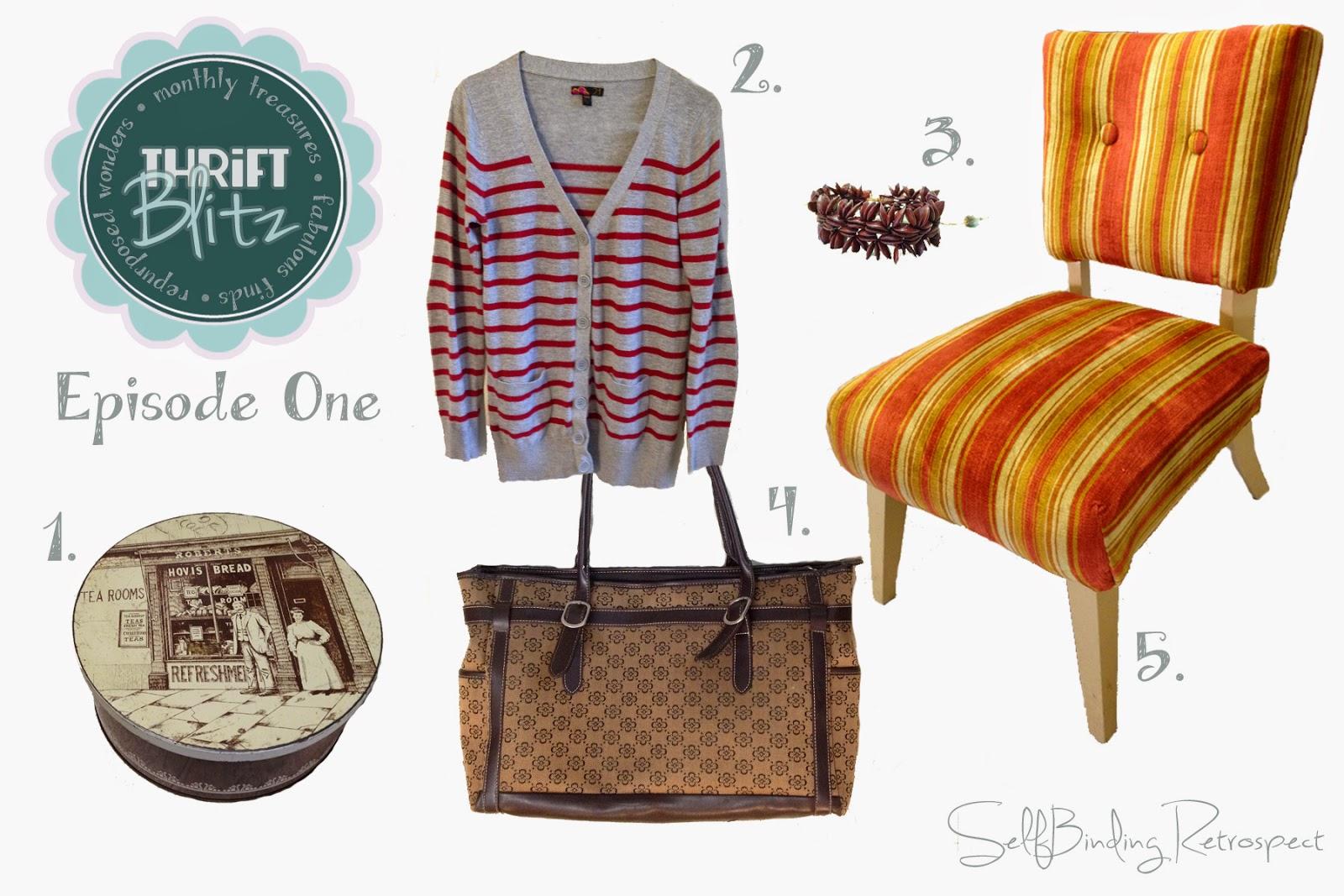 Thrift Blitz Episode One - SelfBinding Retrospect by Alanna Rusnak