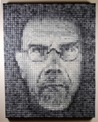 how to do chuck close style