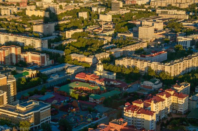 Путешествия: О жизни: Вид с Высоцкого Екатеринбург фото