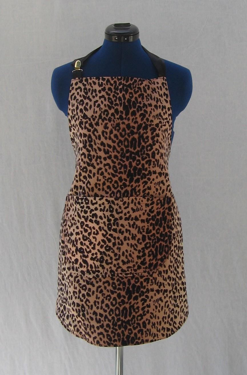 California.Apron: Leopard Print Aprons