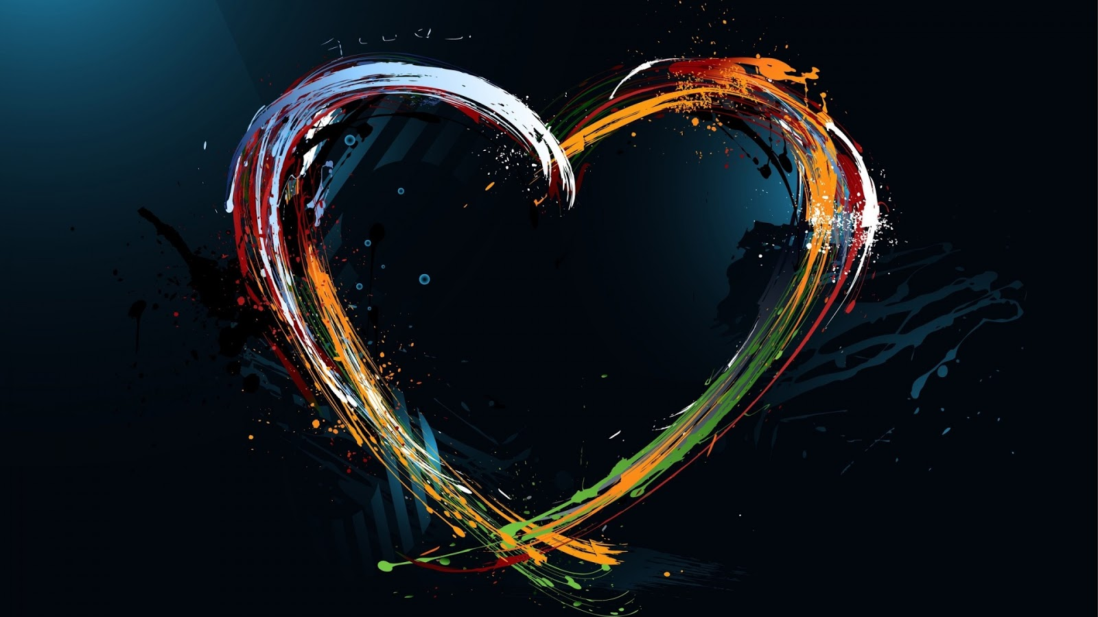 Love Abstract Design 1920x1080 Wallpaper