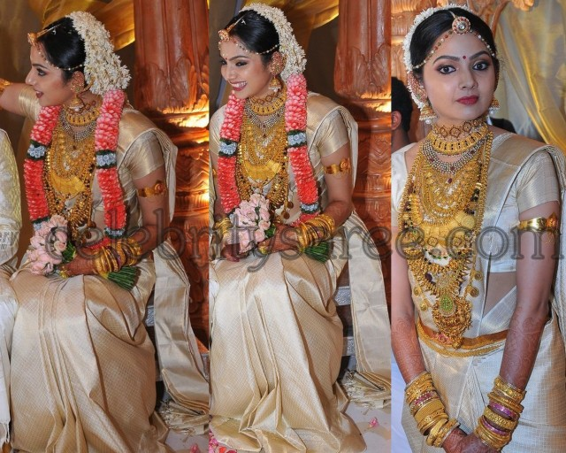 Samvritha Sunil Wedding Sarees Saree Blouse Patterns