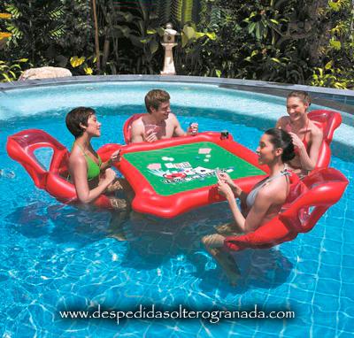 Juegos de piscina en fiesta - Fiesta de piscina ...