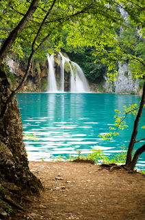 Water Falls Plitvice Lakes National Park,Croatia