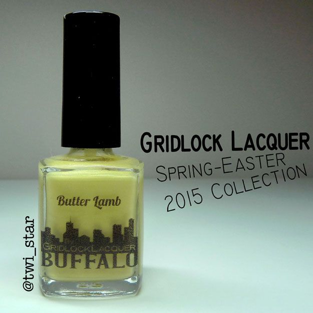Gridlock Lacquer Spring Easter 2015 Collection Butter Lamb