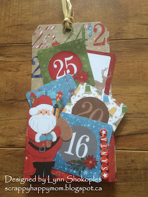 Dear Santa Gift Card Holders by Lynn Shokoples for BoBunny