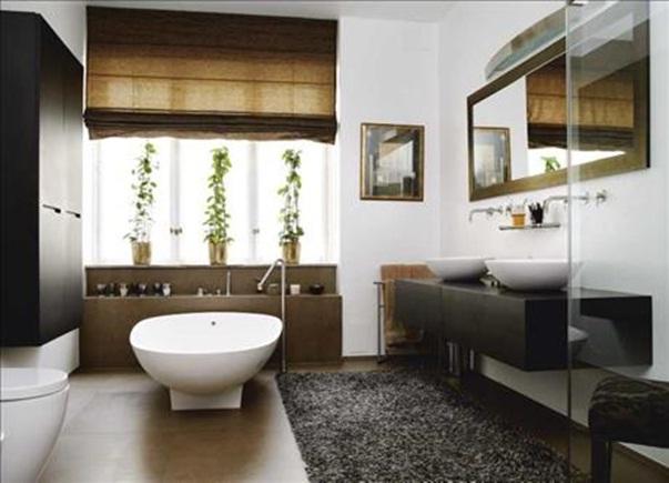 Diseno De Un Baño Moderno:Baño Moderno Italiano con Acentos Orientales