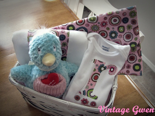 Vintage Gwen Ode To The Homemade Baby Gift