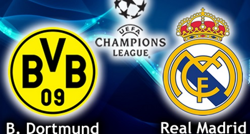 Real Madrid vs Borussia Dortmund Live Stream Semi Final 2013 Champions League