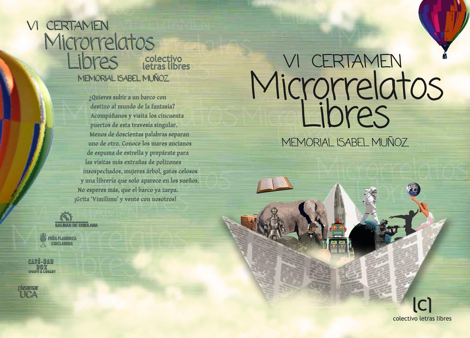 VI Certamen Microrrelatos Libres