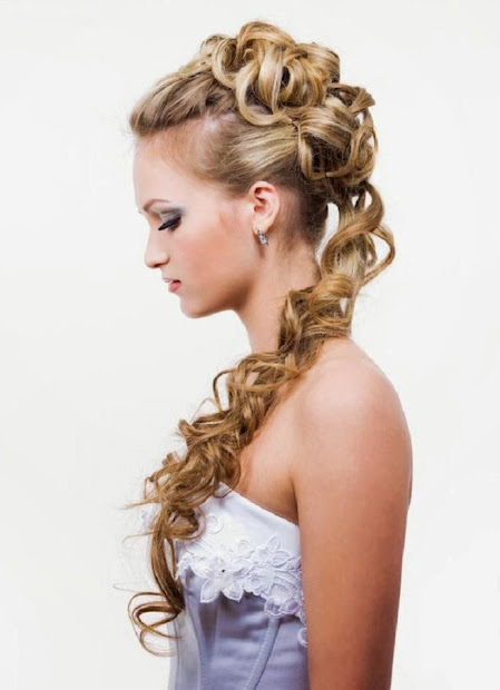 hairstyles women prom 2014