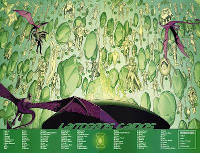 Linternas Verdes Caidos dc comics