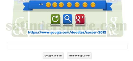 Google Doodle Soccer 2012 Cheat