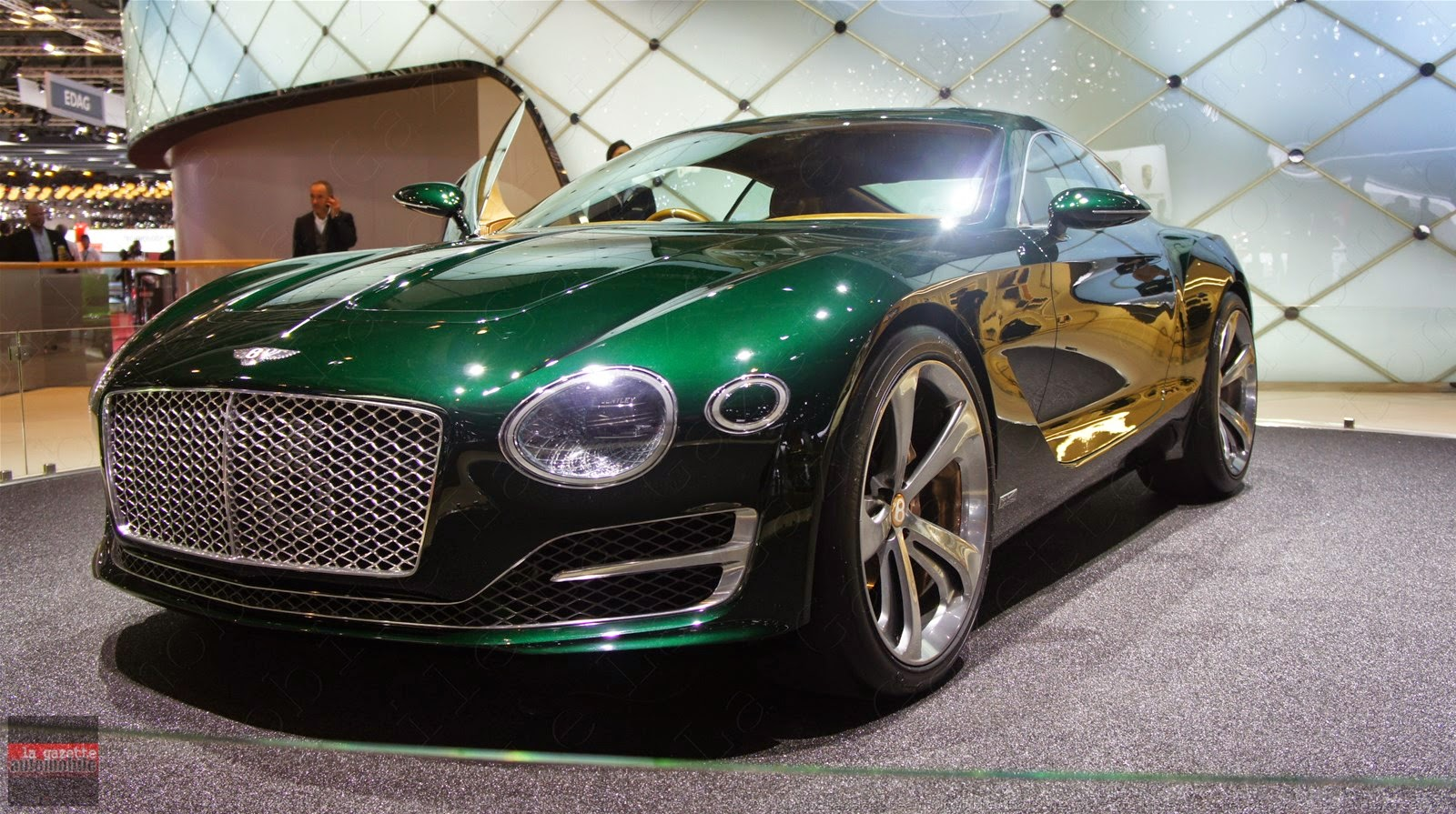 Genève 2015 Bentley EXP10 Speed6 Concept
