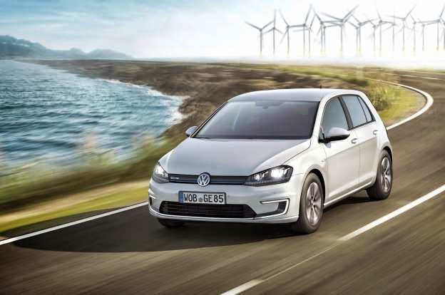 The 2015 Volkswagen e-Golf, which hits dealers this November with a starting price of $36,265, is shaping up to be a strong contender in the compact EV segment. The EPA rated the e-Golf at 126/105/116 MPGe city/highway/combined, the highest rating in the class. The EPA also estimates the e-Golf's range at up to 83 miles. Those numbers compare favorably to the Ford Focus Electric, which only gets 105 MPGe combined and a 76-mile range. But that isn't the only thing that matters when making a purchase decision. With a difference in price of more than $6000, some may be put off by the e-Golf's high cost of entry.  The Nissan Leaf may be a closer match for the electrified VW, as it comes in at a much lower price and is just 2 MPGe combined combined shy of the e-Golf's rating. The Nissan Leaf is currently the sales leader in the segment, outselling all of its pure-electric competitors.  But what will set the e-Golf apart from its competitors is its driving dynamics. Volkswagen has taken the standard Golf, swapped out its engine and replaced it with a compact electric motor and lithium-ion battery. That powertrain provides 115 hp and 199 lb-ft of torque, and gets you up to speed quickly enough. Acceleration from 0-62 mph is estimated by VW at 10.4 seconds, which is par for the compact EV course. However, just like with all EVs, the more aggressive the driving, the less rangeyou'll have.