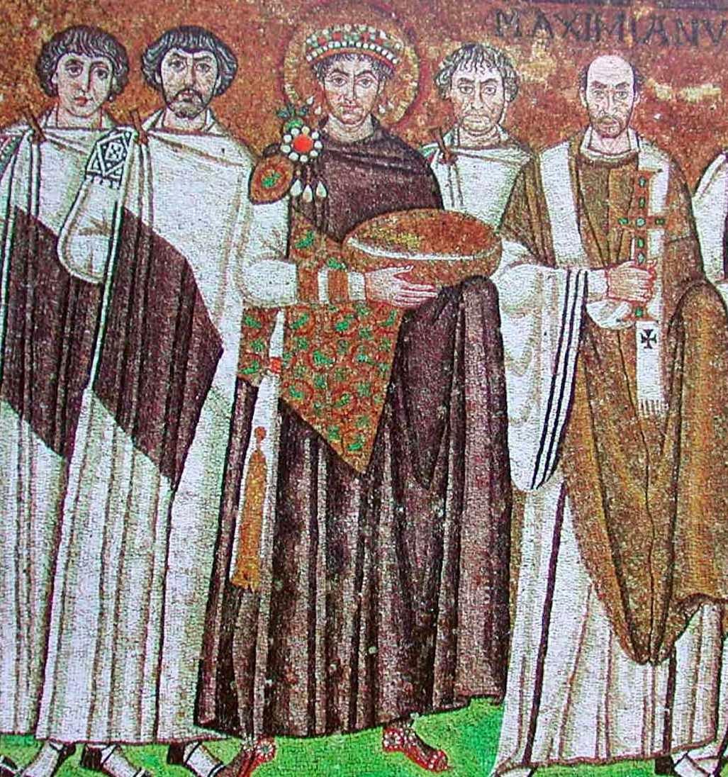 El cortejo de Justiniano