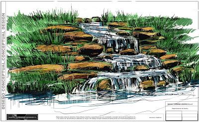 Rocas artificiales cascadas artificiales de calidad for Construccion de cascadas artificiales