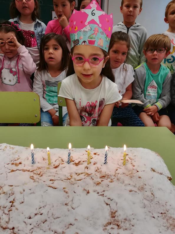 Na Nayra ja té 6 anys!!