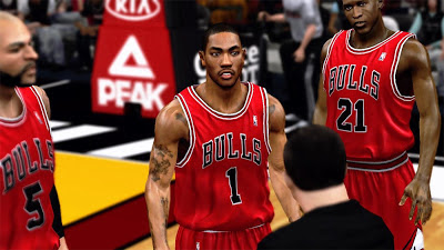 Derrick Rose Bulls against Miami Heat Playoffs Comeback